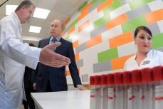 Путин и врачи