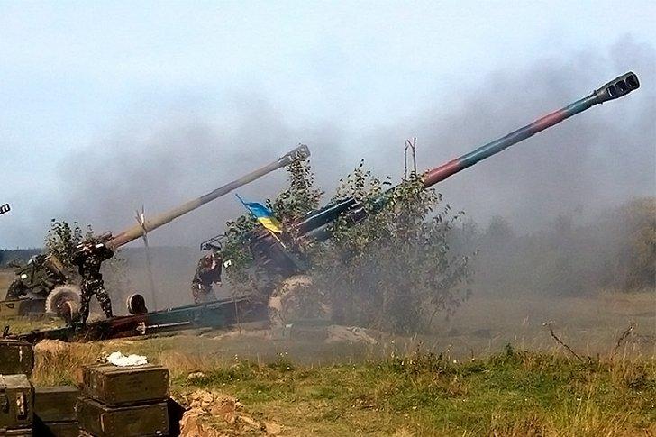 Тяжёлая артиллерия ВСУ