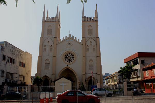 Церковь Франциска Ксаверия. Малакка, Малайзия.