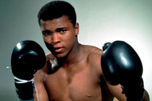 Великий боксер Моххамед Али.