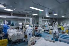 Отделение больных коронавирусом