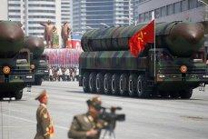 Военный парад в Пхеньяне