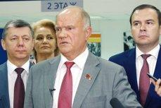 Геннадий Зюганов на пресс-конференции по поводу обращения президента РФ к нации о пенсионной реформе