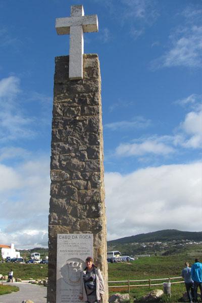 Крест на мысе Рока. Португалия.