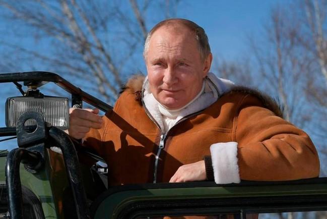 Главное хобби Путина