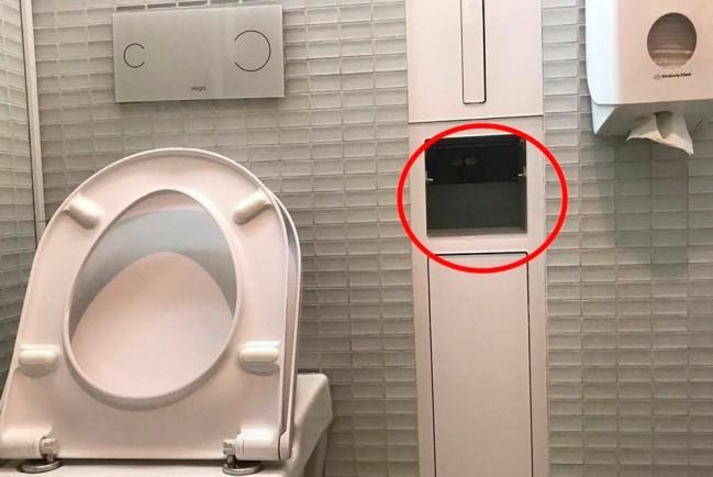 В туалете Мариинского театра нашли камеру наблюдения