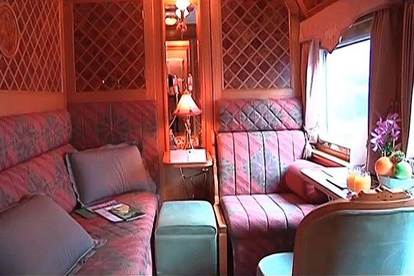 Роскошные купе Eastern & Oriental Express