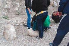 От камнепада в Геленджике пострадала девочка