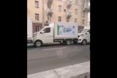 В Узбекистане случилась массовая авария автомобилей для перевозки вакцин от коронавируса