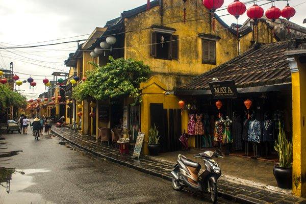 Очаровательные дома в Хойане. Вьетнам.