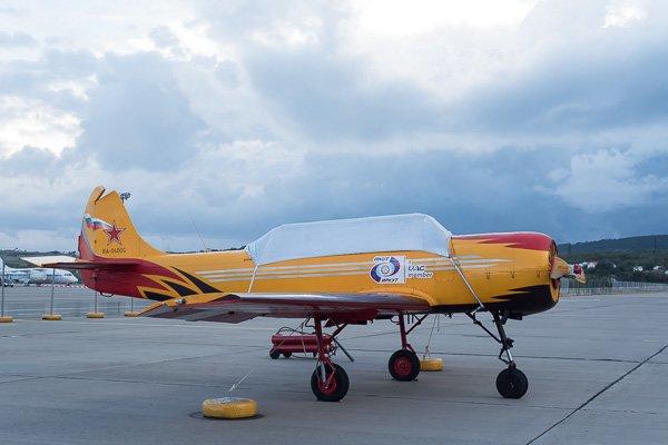 ЯК-52 - самолёт пилотажной группы «Первый полёт»