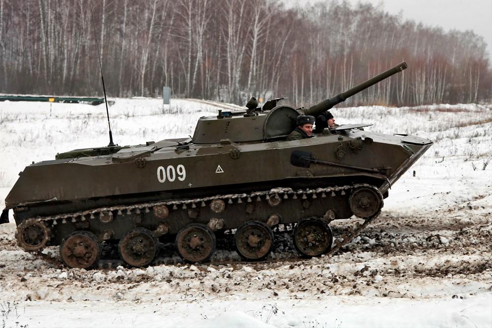 БМД-1 (боевая машина десантная первая)