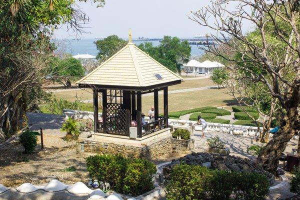 Резиденция короля Рамы пятого. Си Чанг, Таиланд.
