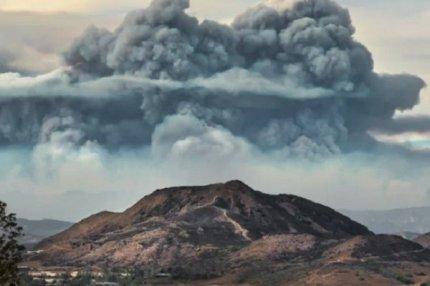 «Огненные» облака