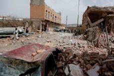 Возобновление ударов в Йемене, разрушенные жилые кварталы.
