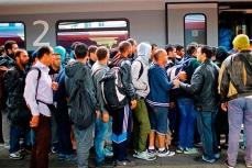 Большинство беженцев-мигрантов хотят попасть в Германию.