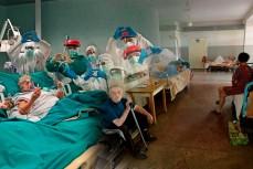 Итальянская больница и украинская