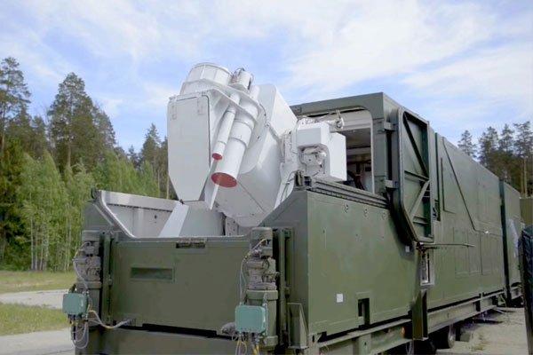 Российский боевой лазер «Пересвет»