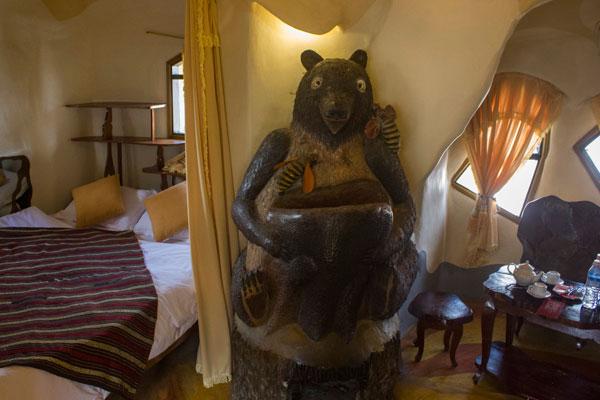 """Номера в отеле """"Crazy House"""" в Далате."""