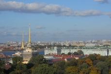 Санкт-Петербург. Вид с Исаакиевского собора.
