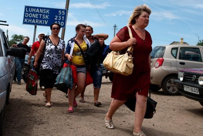 Беженцы из России