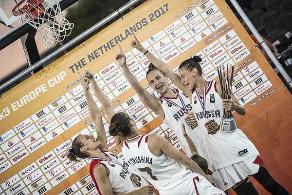 Женская сборная по баскетболу 3х3.