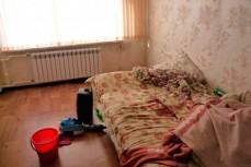 Квартира в которой женщина родила и выбросила ребенка в окно
