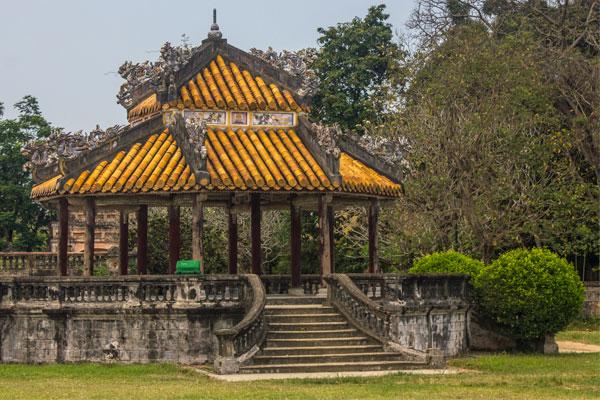 Беседка. Императорская цитадель, г. Хюэ. Вьетнам.