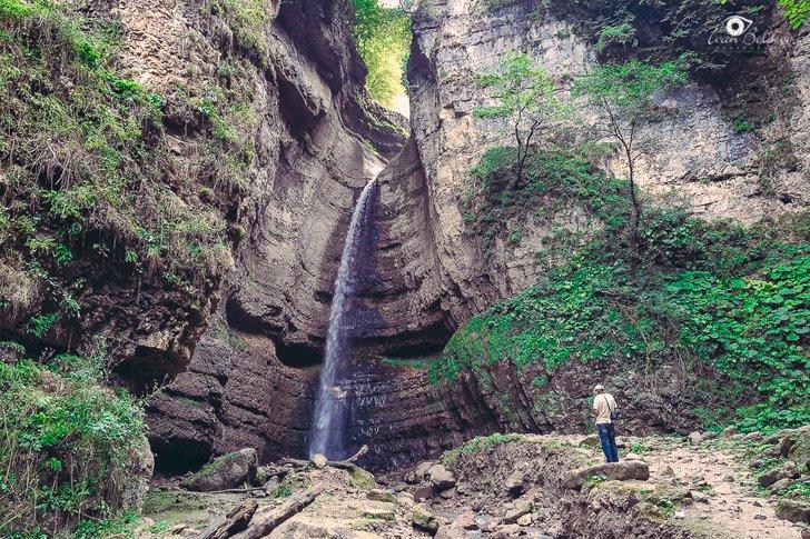 Чегемские водопады в Кабардино-Балкарии