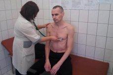 Голодающий Олег Сенцов на обследовании в больнице