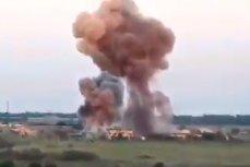Обстрел города Марьинка Донецкой области