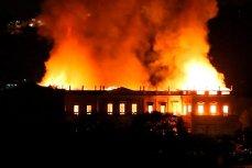 Пожар в Национальном музее Бразилии в Рио