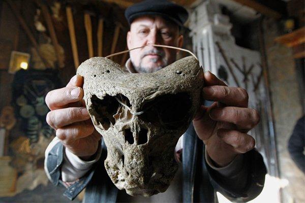 В горах Адыгеи найден череп неизвестного науке существа