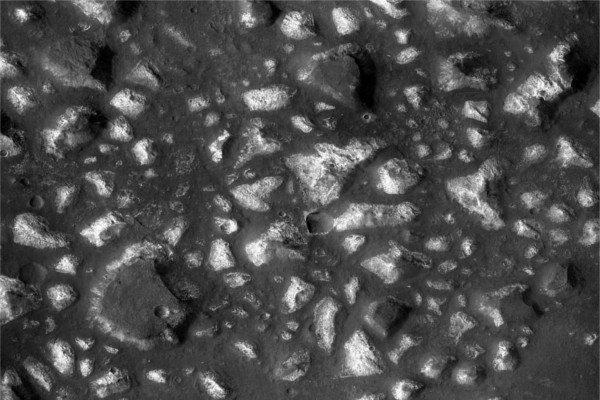 Море Эридана на Марсе.