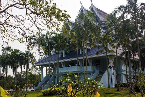 Сад Phra Racha Anusaowari Park. Паттайя, Таиланд.