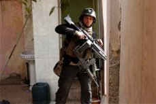 Иракский солдат, Мосул, 1 марта 2017.