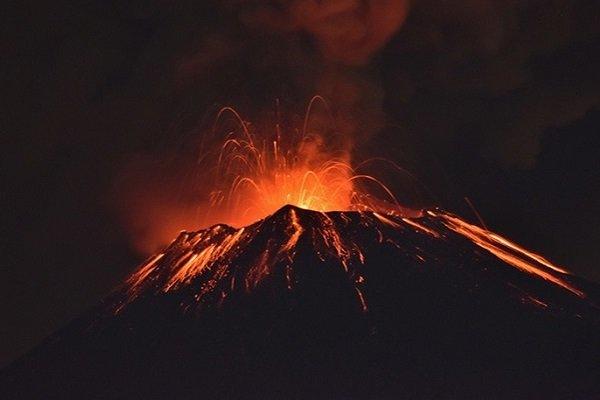 вулкан.