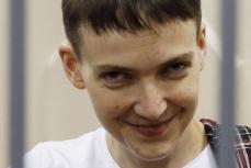 Заключенная Надежда Савченко.