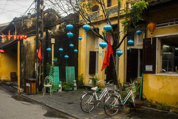 Велосипеды в Хойане. Вьетнам.