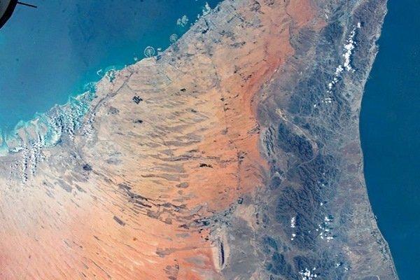Часть Оманского залива, Саудовская Аравия