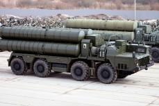 Пусковая установка 5П85СМ2-01 из состава ЗРС С-400 на шасси МАЗ-543М