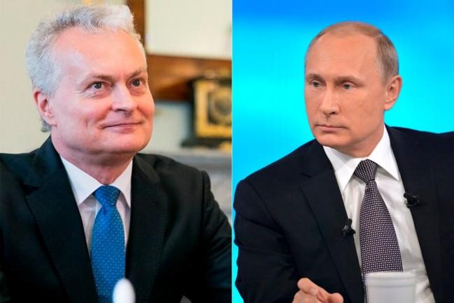 Президент Литвы назвал Путина убийцей