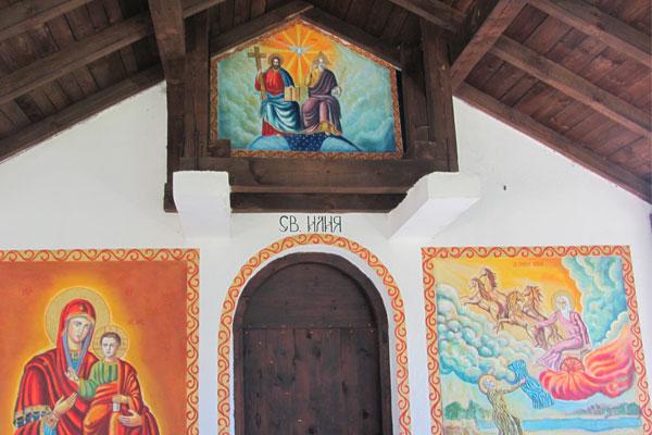 Часовня Святого Ильи. Велинград. Болгария.