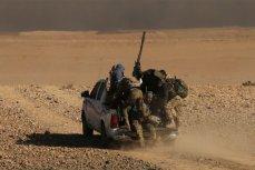 Иракский спецназ в Мосуле.