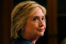 Кандидат в президенты Хилари Клинтон.
