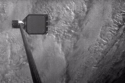 Космический гарпун для сбора мусора на орбите Земли