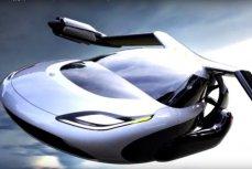 Летающий автомобиль будущего.