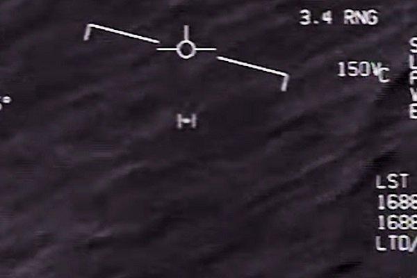 Радар истребителя засек НЛО
