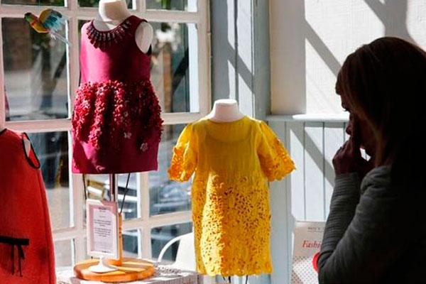 Дизайнерская одежда малышки Харпер Бекхэм выставлена на продажу.