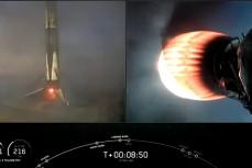 Первая ступень американской ракеты-носителя Falcon 9